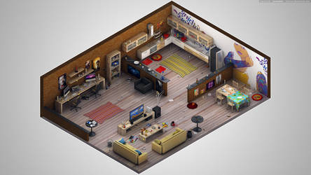 Isometric by K3nzuS