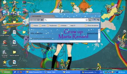 SOTN Maria Renard Shimeji by Blue-Royal-Tiger