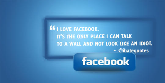 Facebook Talking to a Wall by cheth
