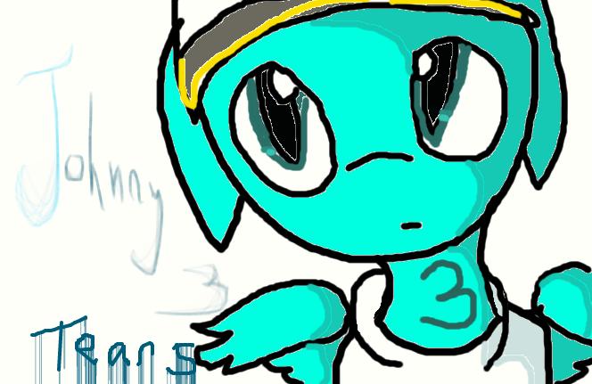 Johnny 3 Pony by DrDiscordedWhooves