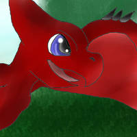 Phoenix Stuff Animal Pteradon hybid (GIF!) by AngelCnderDream14