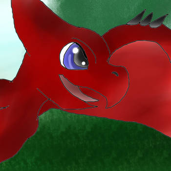 Phoenix Stuff Animal Pteradon hybid (GIF!) by AngelCnderDream14