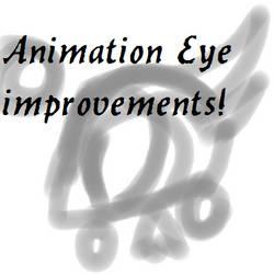 My eye animation improvements sketch! Unfinished!