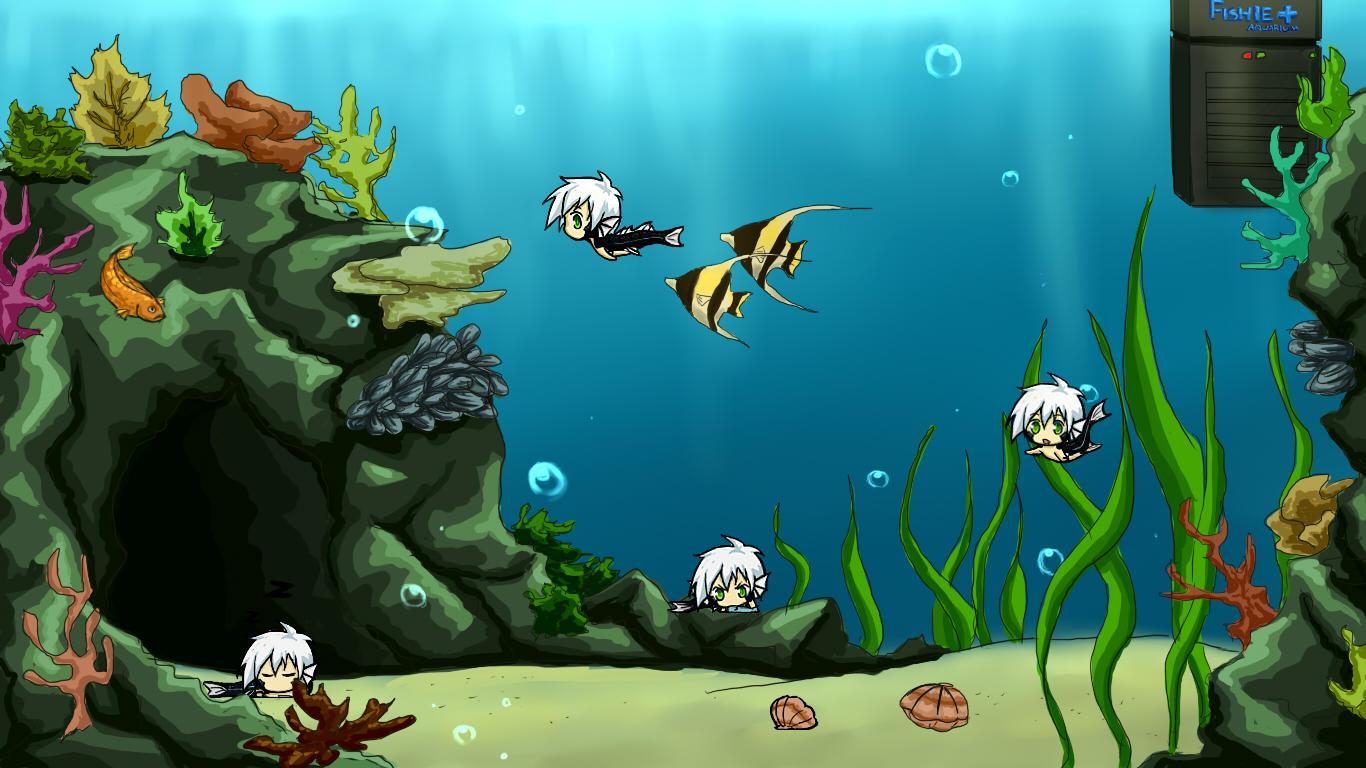Fishie Desktop by Atrieisan
