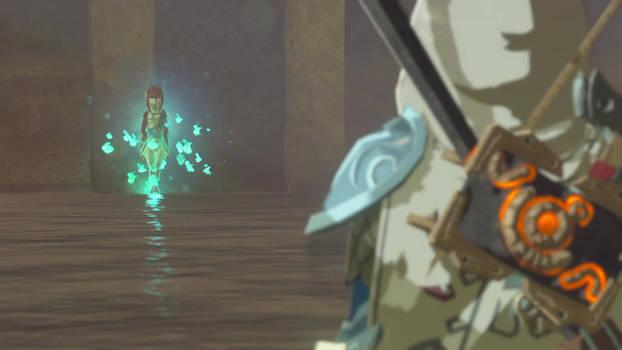 Link meets Mipha 1
