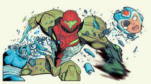 Metriod prime Vs Mega-Man