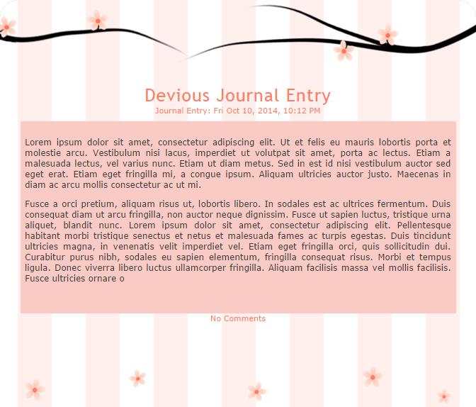 Cherry Blossom Journal by Randioli