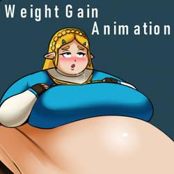 Zelda Weight Gain Animation