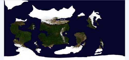 Ascencatu Fictional Planet 8k