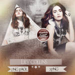 Lily Collins PNG Pack