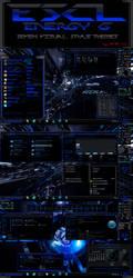 ESCL Energy G_Blue Se7en Visual Style by lahercoll