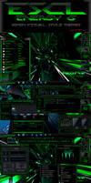 ESCL Energy G_Green Se7en Visual Style