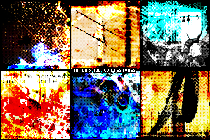 Grunge is good icon textures by Mytebemagick