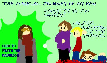 Magical Journey Of My Pen PT 1 by In-Tays-Head