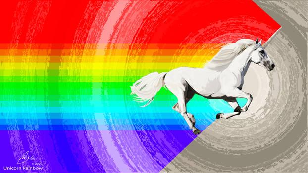 Rainbow Unicorn animated