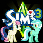 The Sims! Featuring Lyra and Bon Bon! (Icon)