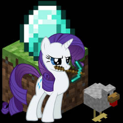 What are you doing Rarity?! (Icon) by talonfox