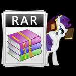 Rar is for Rarity?! (Icon)