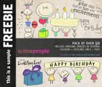 LittlePeople -Birthday Freebie