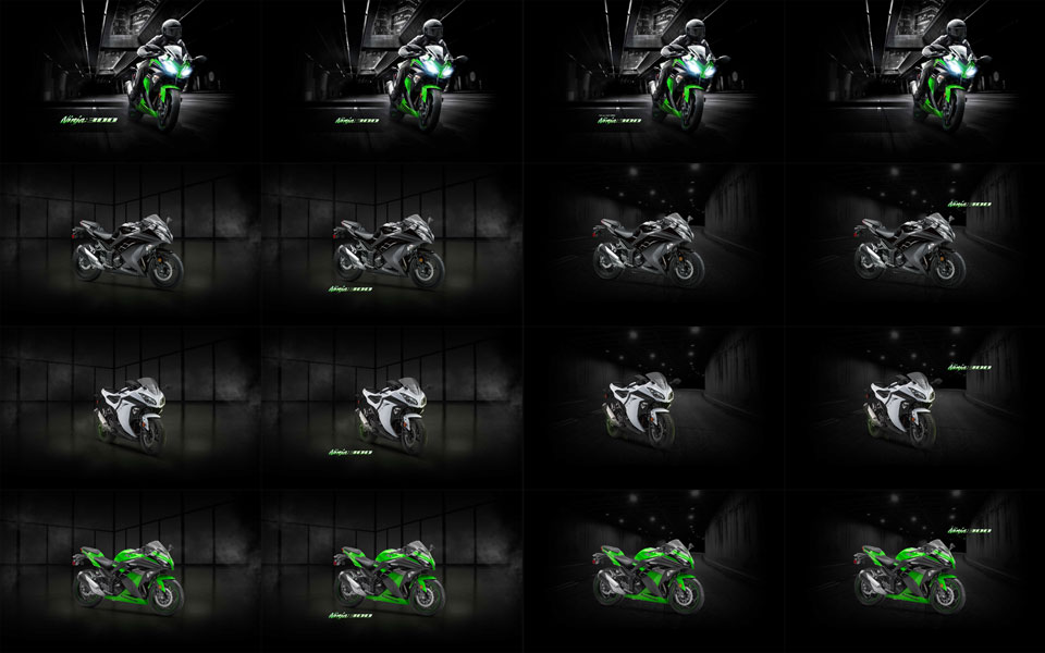 Ninja 300 Wallpaper Pack