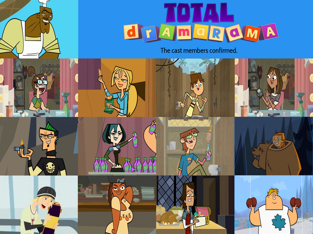 characters confirmed for total dramarama by austinsptd1996 on deviantart