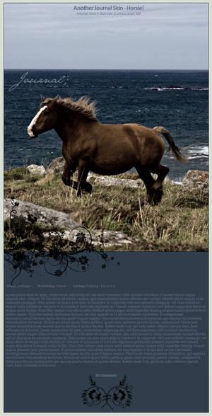 Scottish Coast Journal Skin