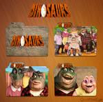Dinosaurs Icon Folder Pack