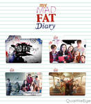 My Mad Fat Diary Icon Folder Pack