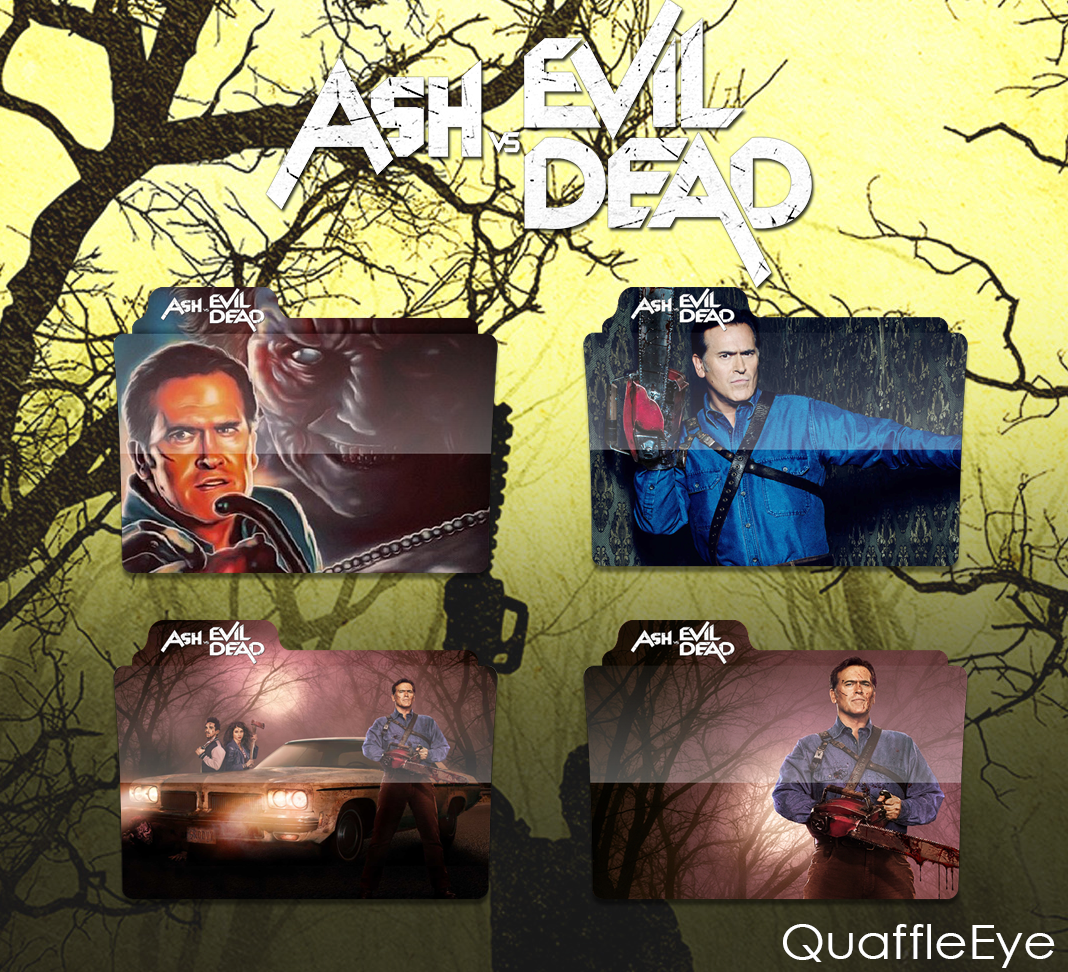 Ash vs. Evil Dead Icon Folder Pack