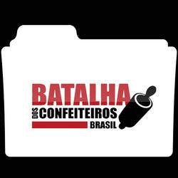 Batalha dos Confeiteiros Brasil Icon Folder
