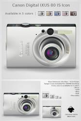 Canon Digital IXUS 80 IS icon by Jaanos
