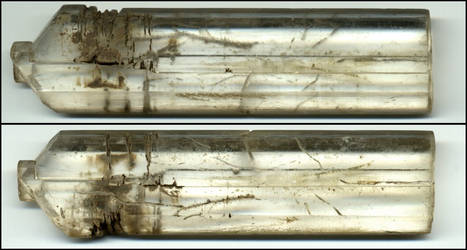 Selenite crystal stock