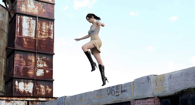 Claire Redfield - Bionic - Daz3D