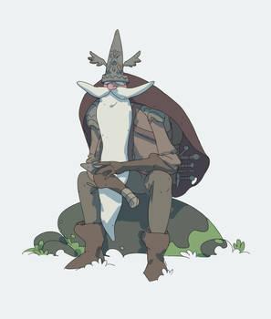 Grumpy old viking - animated