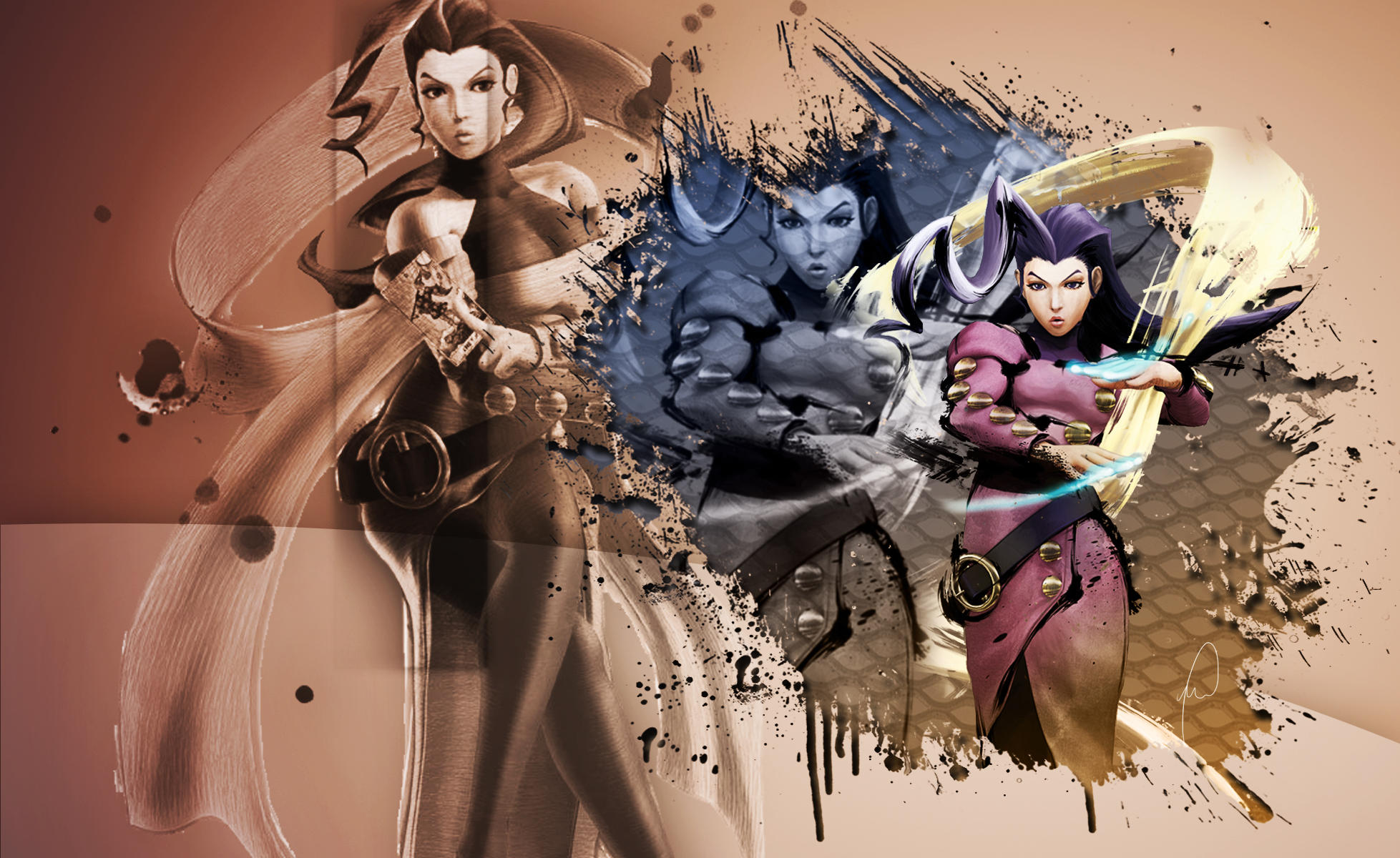 SSF4 Rose - Wallpaper by Dark-Rizzi