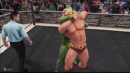 He-Man vs Kobra Khan