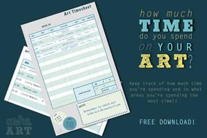 Art Timesheet by ScatteredAshe