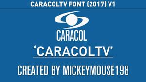 CaracolTV Font (V1)