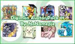 Digimon Avatar Pack 01