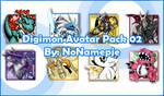 Digimon Avatar Pack 02