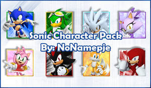 Sonic Characters Avatar Pack