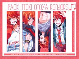 { Pack I } Ittoki Otoya. by DolphinHaru