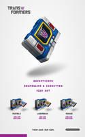transformers soundwave iconset by jamespeng