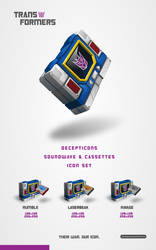 transformers soundwave iconset