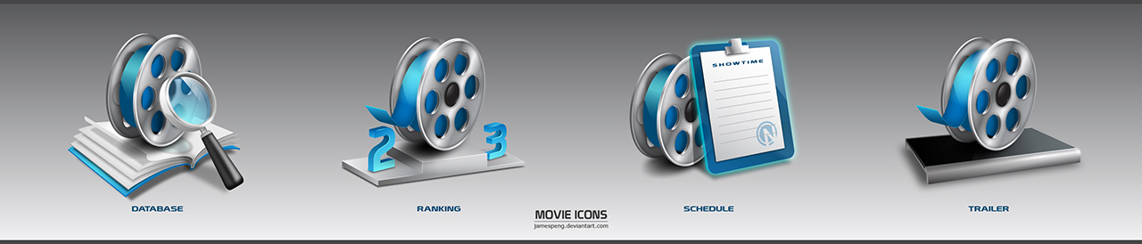 Movie Icons by jamespeng