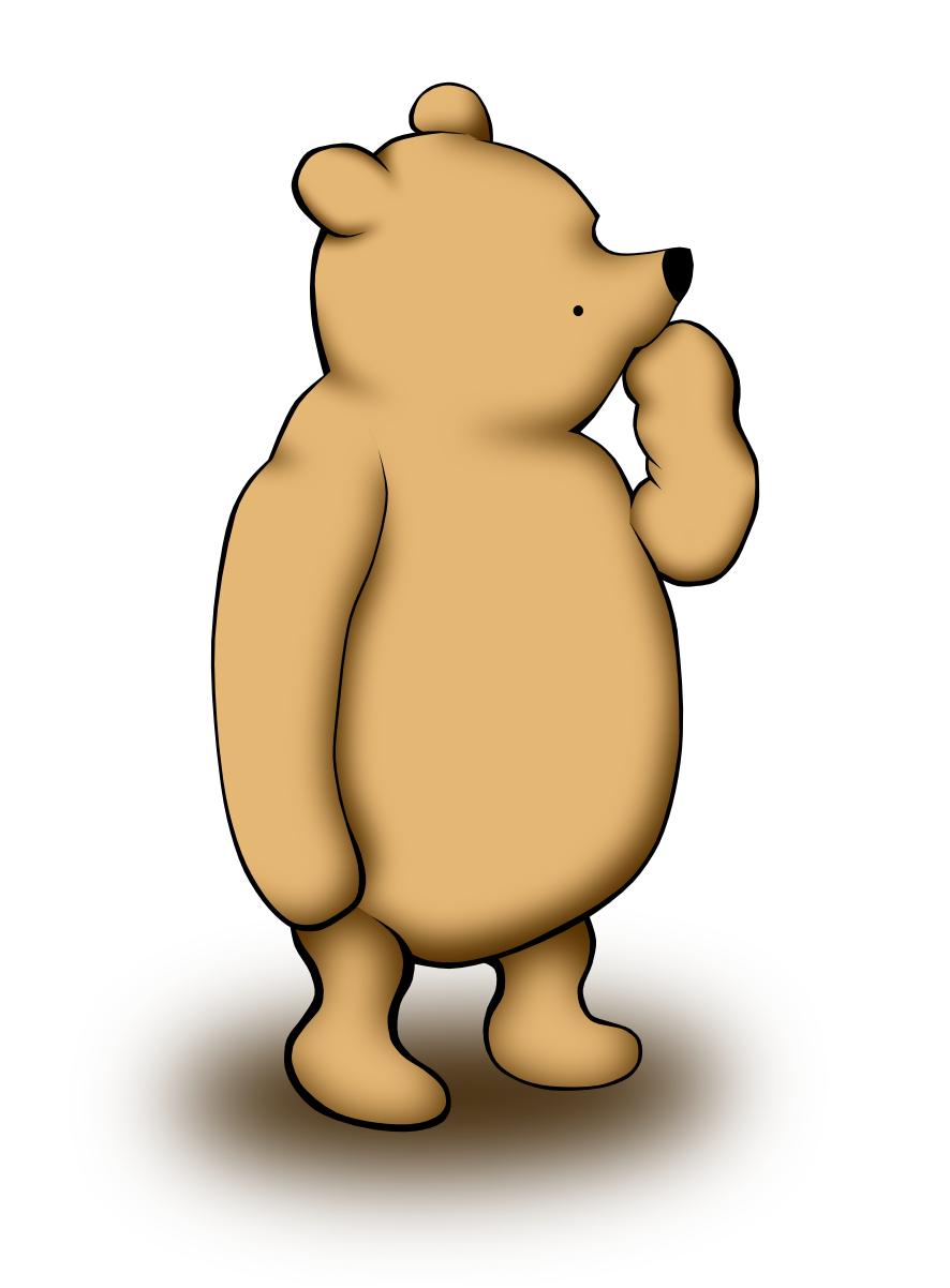 Winnie The Pooh by panzi