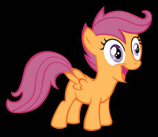 Scootaloo Traced by panzi