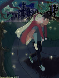 Starco: Moon Lit Night in the City Park