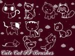Cute Cat Photoshop Brushes