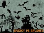 Spooky Photoshop Brushes
